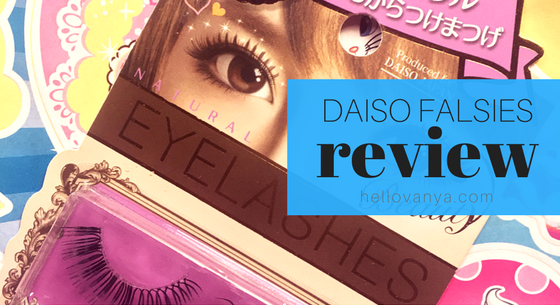 daiso falsies