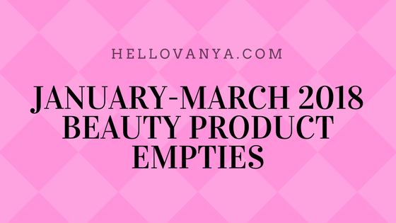 JAN-MAR2018EMPTIES